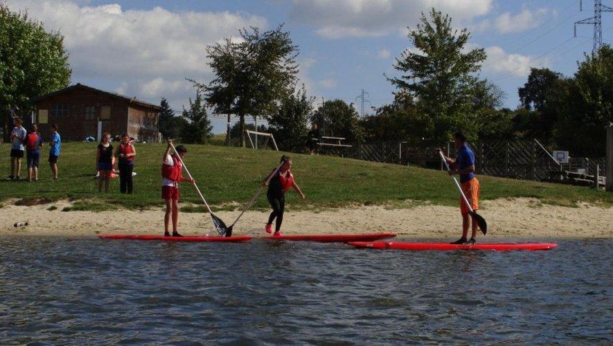 Le stand up paddle, une activité qui fonctionne bien durant