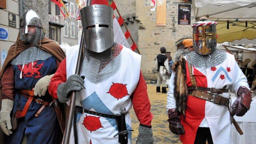 Avec les Médiévales, Estaing vous invite au temps du Moyen-Âge, samedi et dimanche.                                 Archives Centre Presse
