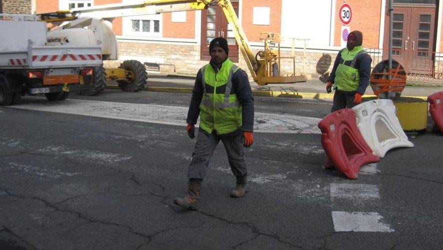 Decazeville : c'est parti pour un chantier d'un an et demi dans la rue Cayrade