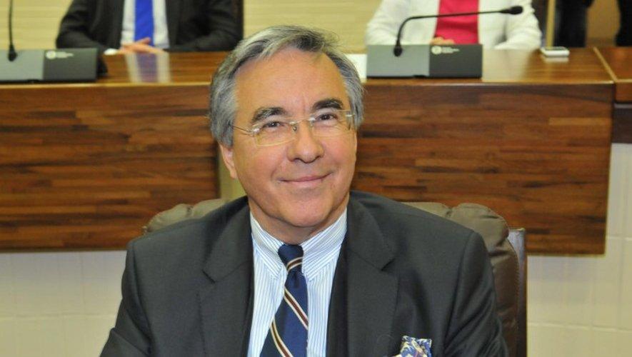 Le président du Département, Jean-François Galliard, est à l'origine de cette lettre. (José A. Torres / Centre Presse Aveyron)