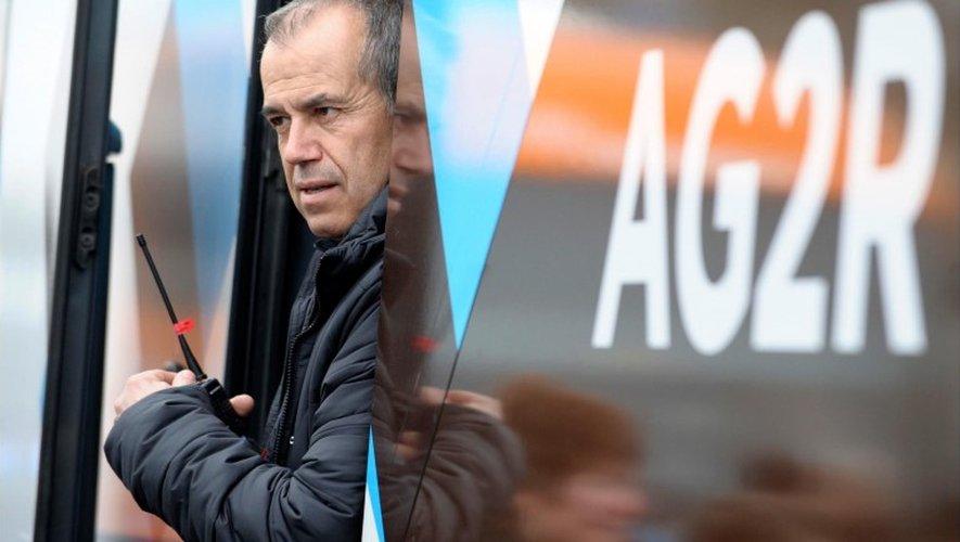 Vincent Lavenu, directeur général de l'équipe française, ici en juillet lors du Tour de France. a.p.