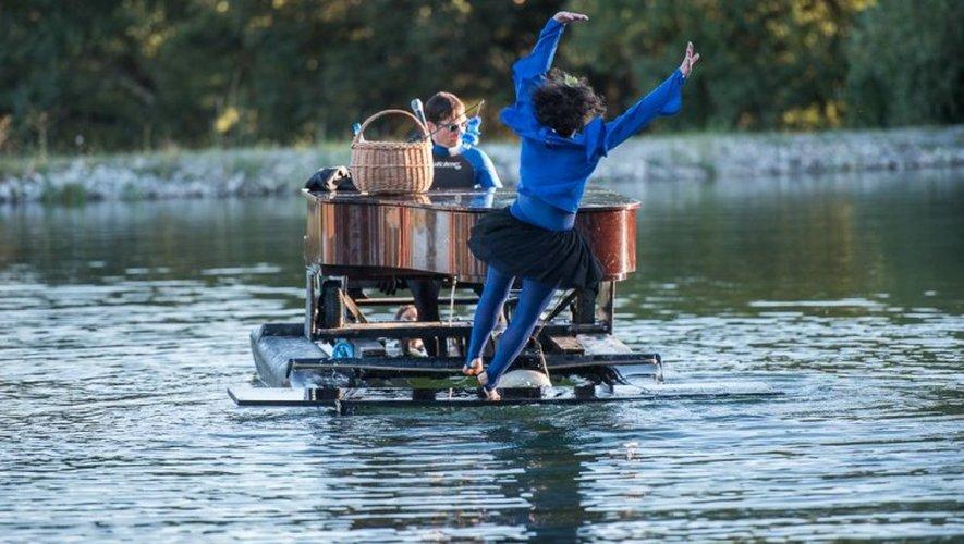 VIDEO. Trois rendez-vous musicaux à découvrir... sur l'eau, avec le «Piano du lac»