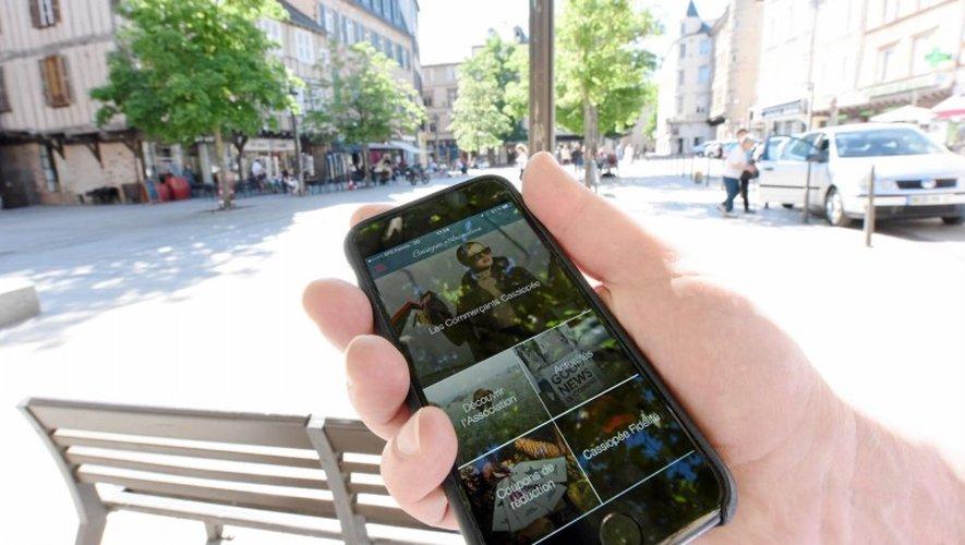 Une application idéale pour les consommateurs ruthénois... Et les nombreux touristes.