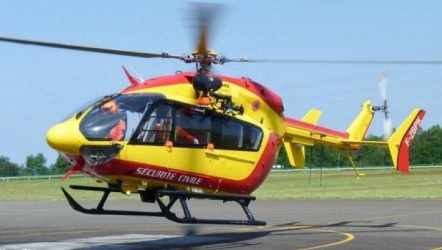Millau : un vététiste blessé héliporté vers Montpellier