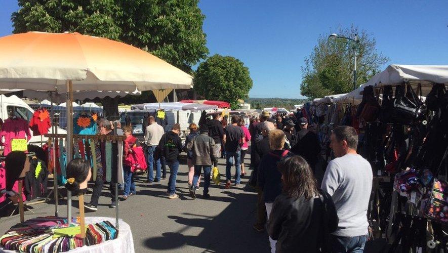 Foire de printemps : 15 000 visiteurs attendus jusqu'à ce soir à Laissac