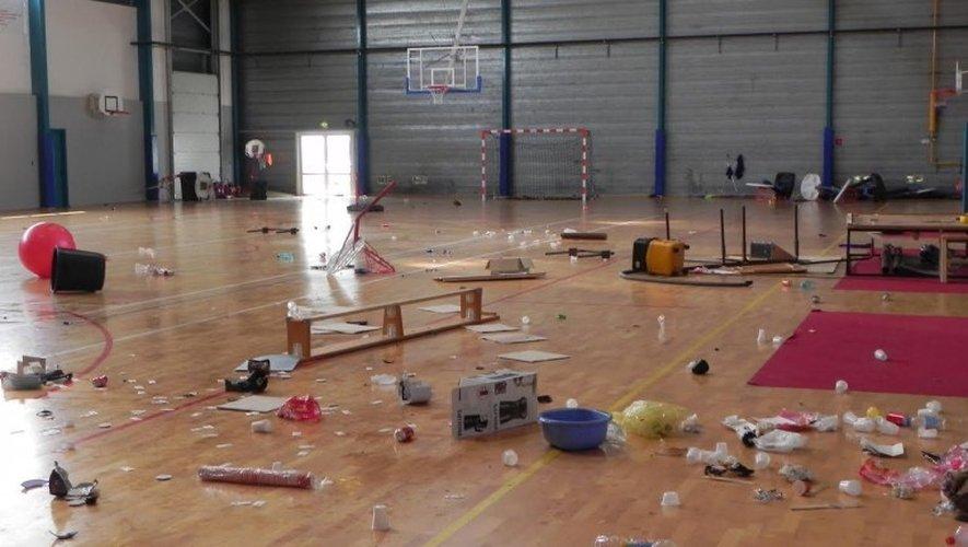 Le gymnase de Druelle vandalisé dans la nuit de samedi à dimanche