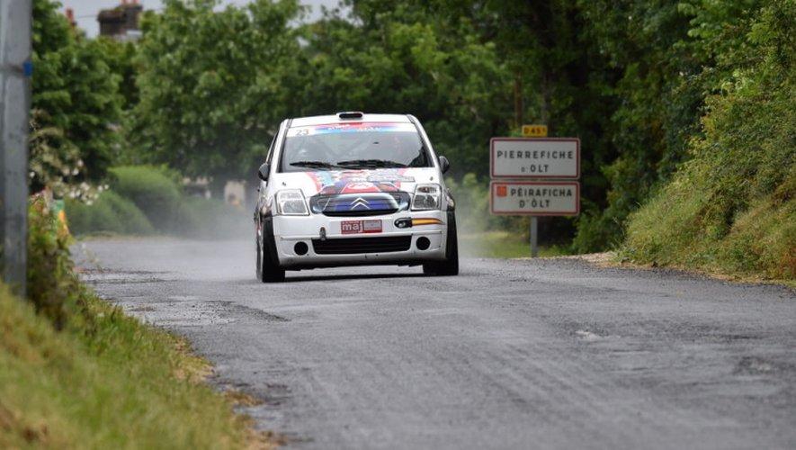 Jean-Michel Da Cunha remporte le rallye de Saint-Geniez-d'Olt