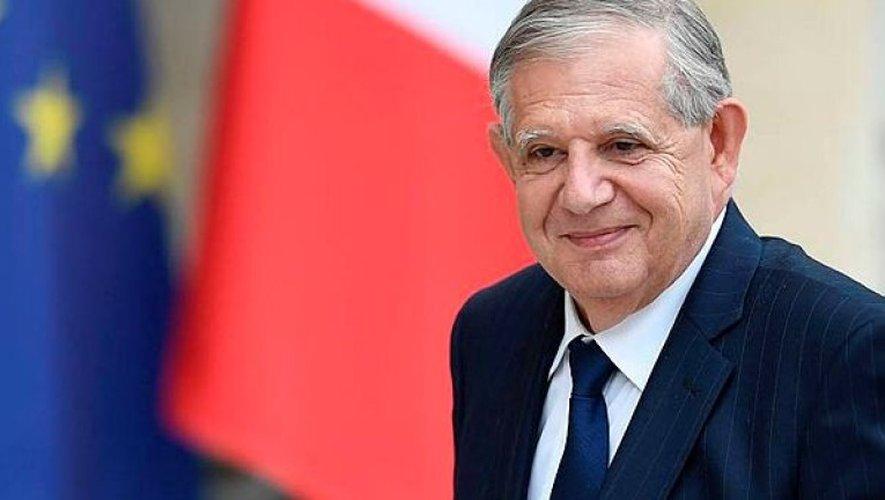 Jacques Mezard, lors du premier conseil des ministres de l'ère Macron.