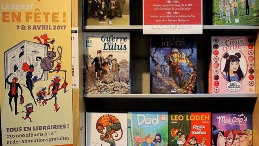 La BD en fête ce week-end en Aveyron
