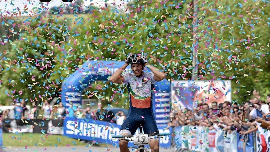 Champion du monde en juin à Laissac, le Portugais Tiago Ferreira est de retour.