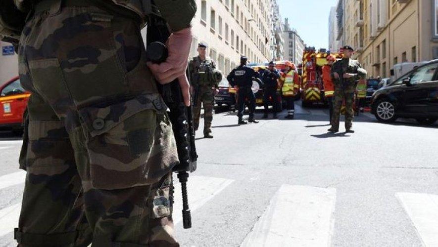 Les deux individus ont été interpellés à Marseille ce mardi matin.