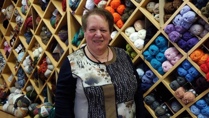 Amalia Spagnuoluo, gérante du Magasin Blanc, prendra sa retraite d'ici deux ans. / Photo DDM, A. C.