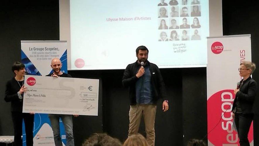 Le prix a été décerné par les membres du directoire de l'Union régionale des Scop Midi-Pyrénées.