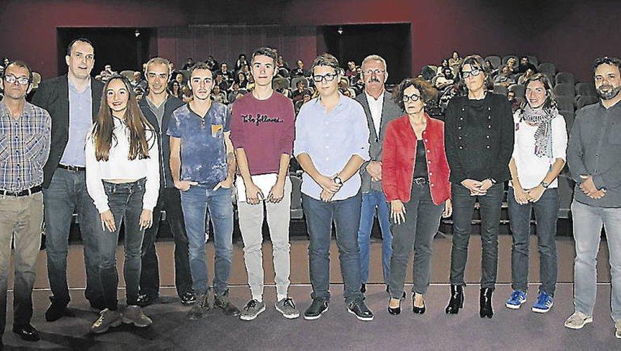 La cérémonie de remise des prix du concours de l'an passé où le film d'Anatole Clément «Le Vilain» avait décroché le premier prix.