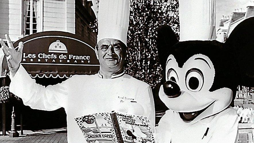 Quand Didier Sirvin servait Paul Bocuse à... Disney