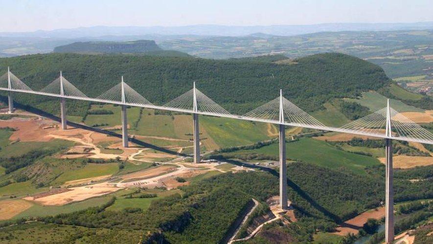 Nouveau record pour le viaduc de Millau en 2017