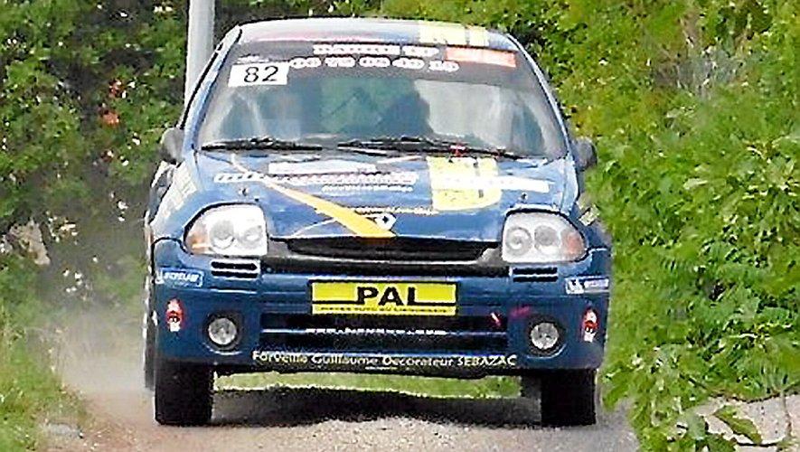 Rallye du Rouergue : les équipages aveyronnais en photos