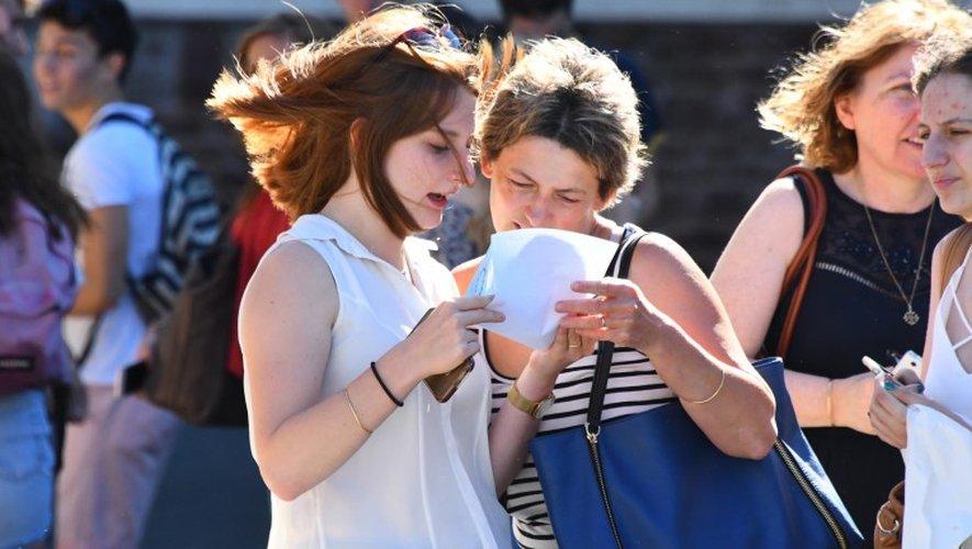 DIAPORAMA. Résultats du bac à Rodez : un moment fort en émotions en images