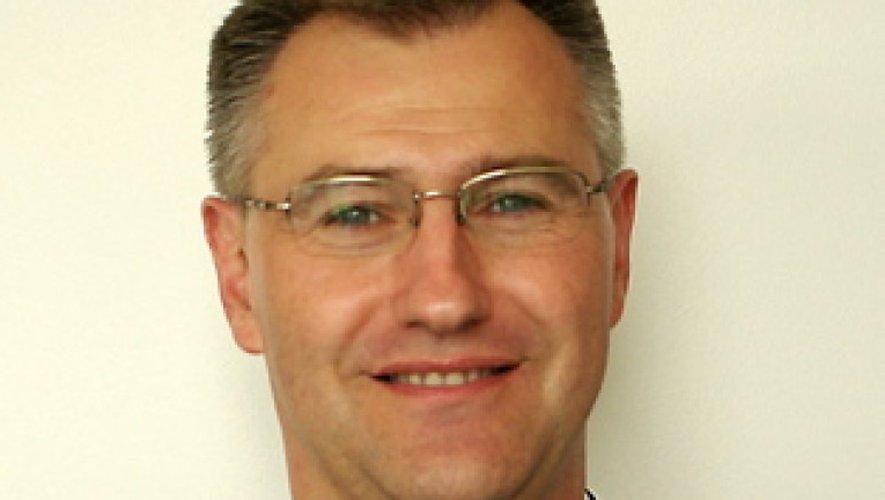 Florian Souyris, nouveau patron des pompiers aveyronnais