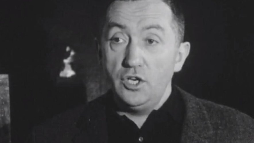 Pierre Soulages, ici en 1965 lors de cette interview télévisée à l'époque de l'ORTF.