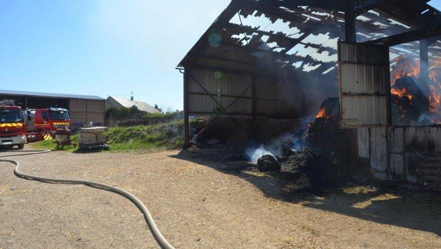L'incendie qui a frappé un bâtiment agricole au lieu-dit Peyrignac, ce lundi matin, a viré au drame.