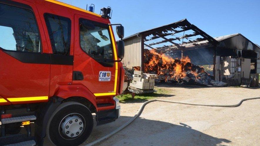 Incendie de Salles-la-Source: il décède en voulant sauver les brebis