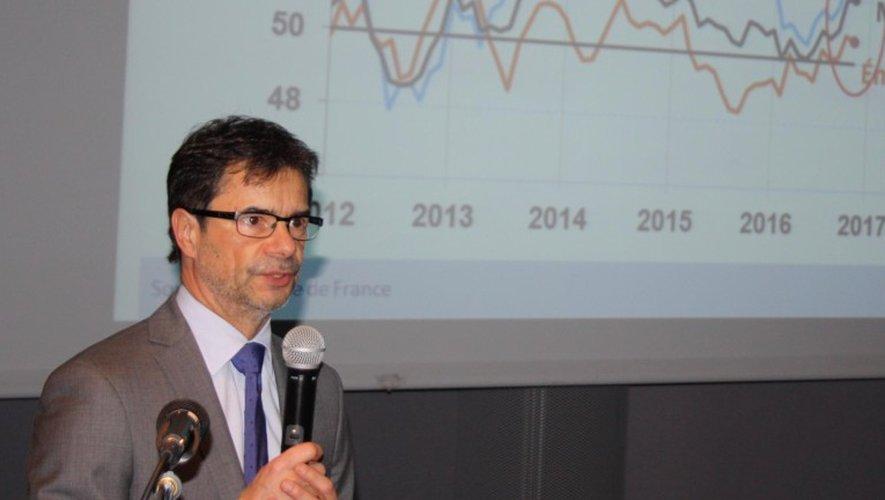 Le directeur départemental de la Banque de France, Philippe Saigne-Vialleix.