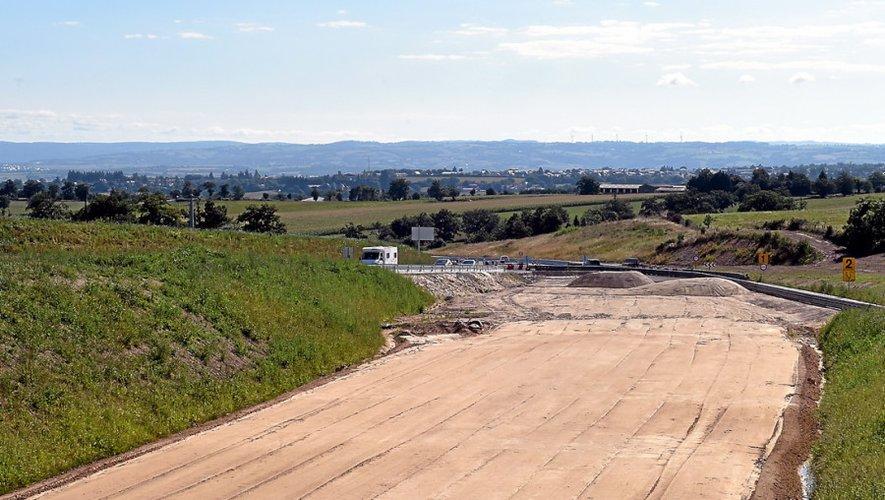 Les grands chantiers pour rapprocher Rodez de Toulouse se poursuivent sur la RN88