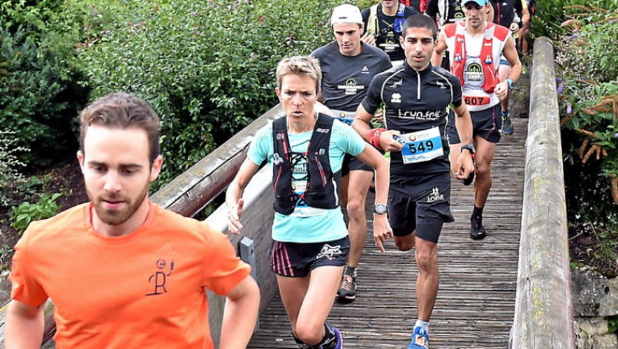 Ikalana : Nicolas Miquel  survole le trail longue distance