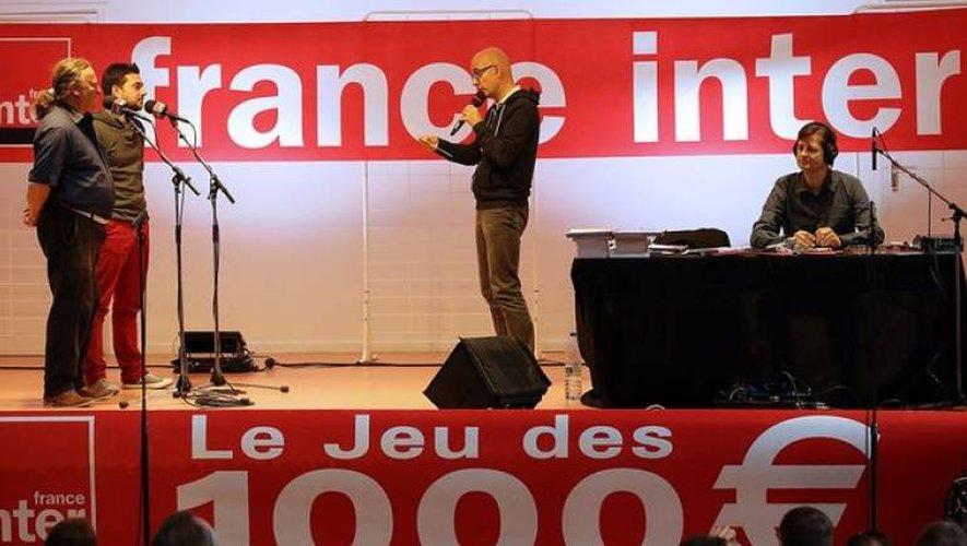 Le Jeu des 1000euros de France Inter vient en Aveyron