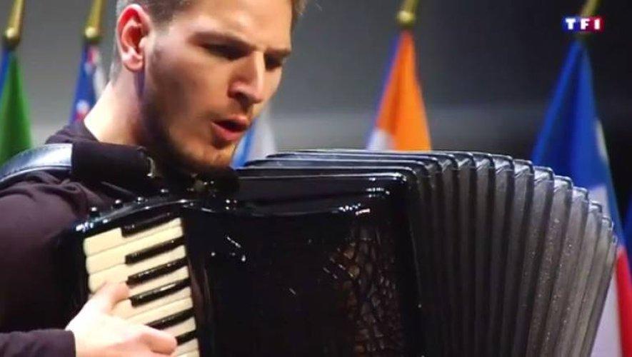 Le Trophée mondial de l'accordéon dans le JT de 13h sur TF1