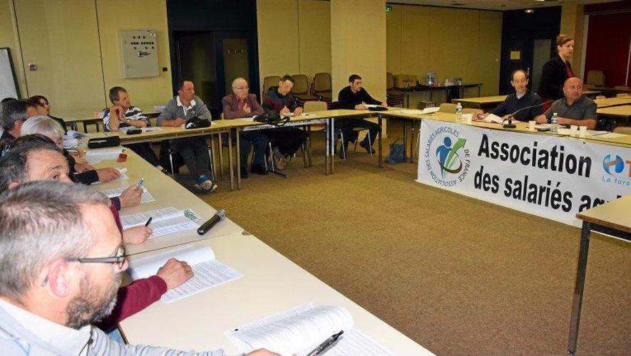 Une vingtaine de membres de l'ASA ont participé aux débats, à Rodez.