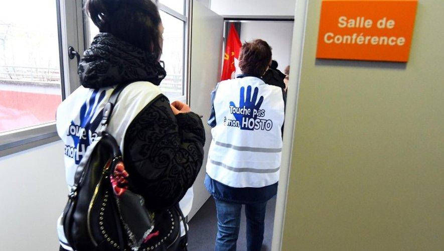Aveyron : les syndicats disent «non» au groupement hospitalier de territoire