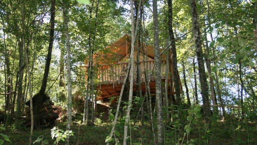 Le camping se la joue «glam» à Villecomtal
