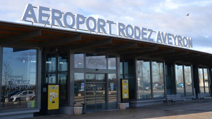 L'aéroport de Rodez termine l'année sur une hausse de fréquentation
