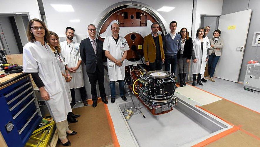 L'installation de l'accélérateur de particules a été voulue par l'ensemble des services de l'hôpital Jacques-Puel.