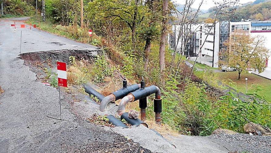Les travaux de remise en état sont prévus en début d'année.