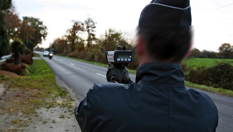 Le motard s'est fait flasher samedi soir, commune de Salles-la-Source.