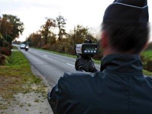 Salles-la-Source : un motard contrôlé à 153 km/h !