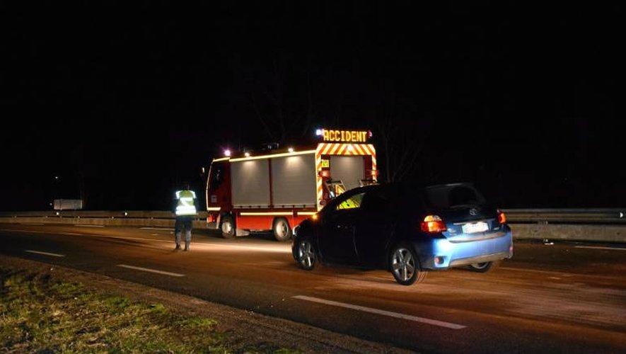 Les gendarmes sont à la recherche d'éléments supplémentaires pour comprendre l'accident mortel survenu sur la RN88, samedi 10 février.