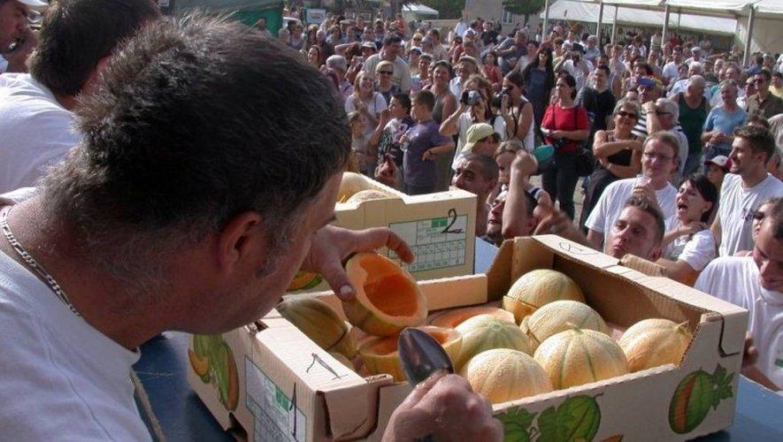 C'est la fête au melon, ce week-end à Jouels. CP