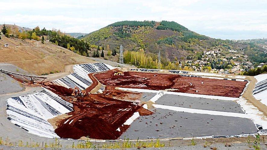Le site de stockage de Montplaisir, peu après le début du processus de dépollution des terrains d'Umicore.