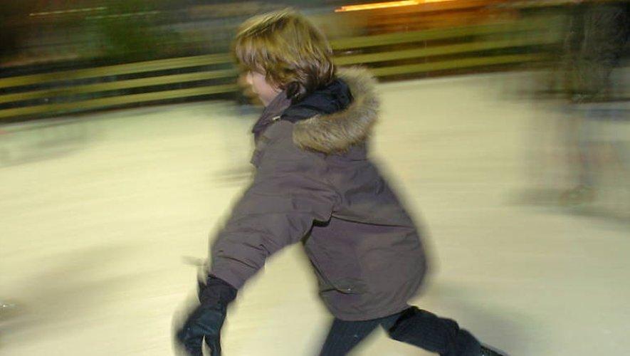 A Onet-le-Château, la patinoire est ouverte de 14heures à 18 heures pour s'adonner aux joies de la glisse. Archives: José A. Torres