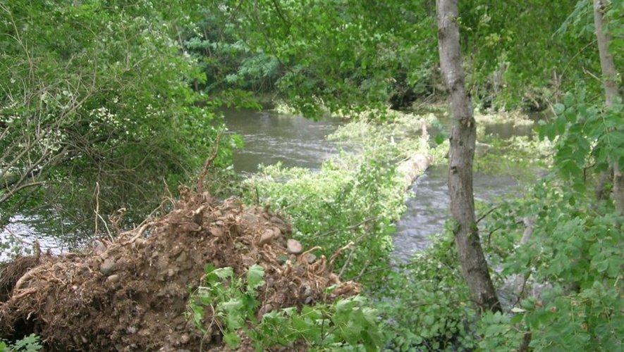 Espalion: une mini-tornade fait des dégâts