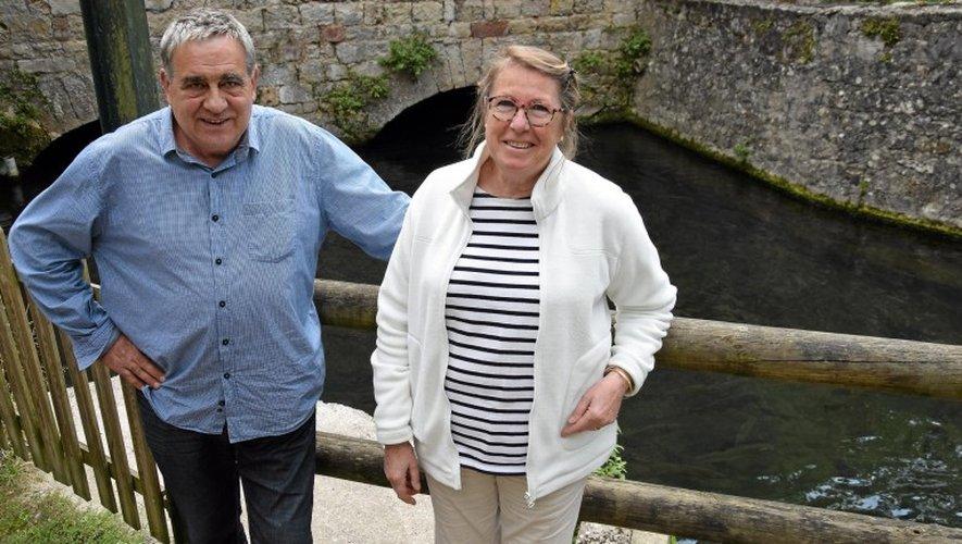 La pisciculture de Francine et Jean-Marie Lacombe  fêtera bientôt ses 50 ans.