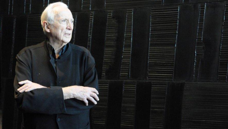 Le précédent «record» de Pierre Soulages était la vente d'une autre œuvre «bleue», pour 5.1 millions d'euros.