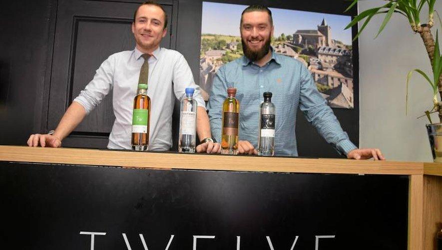 Le gin d'aubrac figure parmi les spiritueux commercialisés par la marque Twelve.