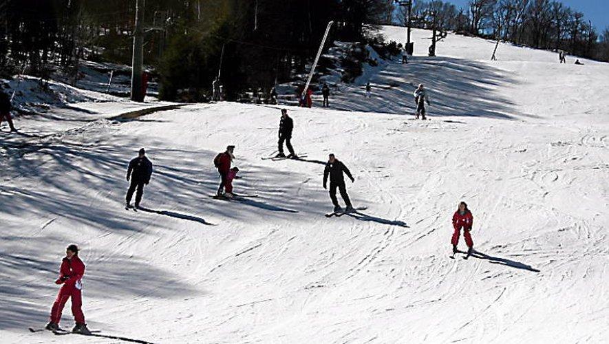 Aubrac : les stations de ski sont sous la neige