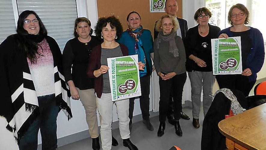 De nombreux partenaires sont réunis pour l'organisation de la soirée « Sommeil et santé ».