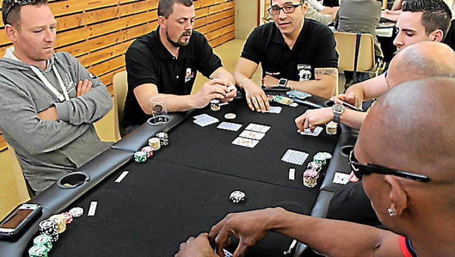 Les tournois du club ruthénois attirent en général de 70 à 80 joueurs.